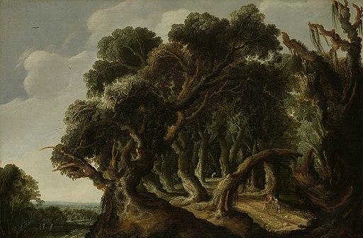 Boslandschap Rijksmuseum SK-A-3968