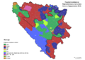 Bosnia and Herzegovina, parliamentary election, 2014-sr.png