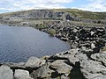 Boulders at Llyne Brianne dam - geograph.org.uk - 540383.jpg