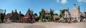 Bourtange - Market square in the center of Fort Bourtange