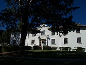 National Register of Historic Places listings in Grant County, New Mexico - Image: Bowden Hall 2
