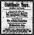 Bozner Zeitung 28 Okt 1918 S 4 Stadttheater.png