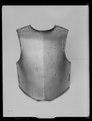 Bröstharnesk, karolinsk typ 1600-talets slut - Livrustkammaren - 53641.tif