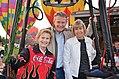 Brad and Teresa Little at Boise Balloon Classic - 8-30-13 (15954251130).jpg