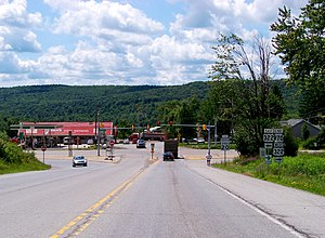 Pennsylvania Route 970 - PA 970's southern terminus at US 322