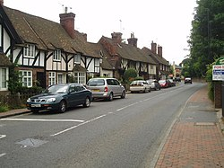 Brasted High Street on the A25 - geograph.org.uk - 25237.jpg