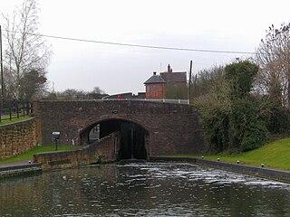 Bratch village in United Kingdom