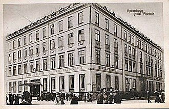 Hotel Phoenix Copenhagen - The hotel in c. 1900
