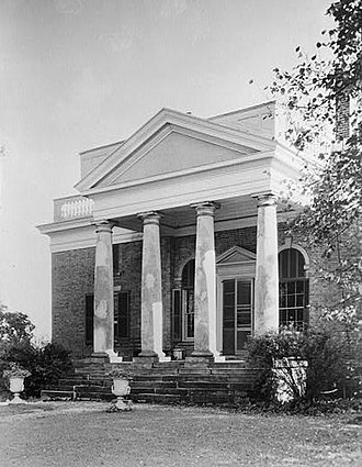 National Register of Historic Places listings in Fluvanna County, Virginia - Image: Bremo Plantation (Fluvanna County, Virginia)