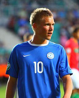 Brent Lepistu Estonian footballer