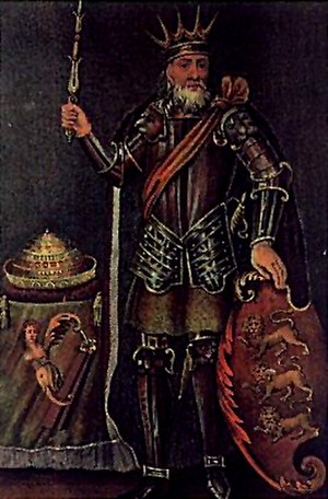 History of Ireland (800–1169) - 18th-century engraving of Brian Boru.