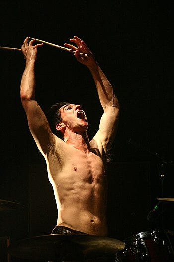 Brian Viglione of The Dresden Dolls contributed percussion to tracks 19 and 22 BrianbyLauren.jpg