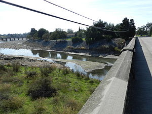 Alameda Creek - Alameda Creek at Niles, Fremont