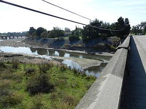 Alameda Creek - Alameda Creek at Niles, Fremont