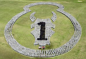 Over 4000 members of the 1st BCT, 34th Infantr...