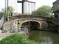 Briggate Bridge from Towpath - geograph.org.uk - 786738.jpg