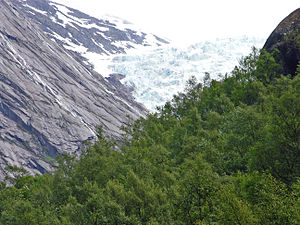 Jens Esmark - Glacier, Briksdalsbreen, Norway