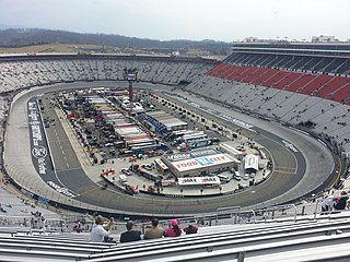 Bristol Motor Speedway motorsport track in the United States