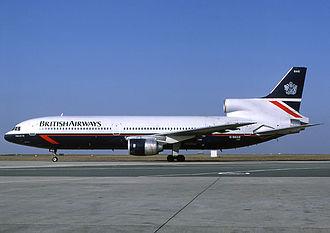 Lockheed L-1011 TriStar - British Airways L-1011-385 TriStar in Landor livery in 1986
