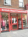 British Heart Foundation in Winchester High Street - geograph.org.uk - 1540015.jpg