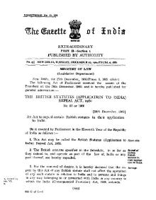 British Statutes (Application to India) Repeal Act 1960.djvu