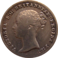 British fourpence 1843 obverse.png