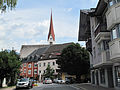 Brixlegg, Marktstrasse en Unsere Liebe Frau Vermählung (Dm124148) foto3 2012-08-09 11.26.JPG