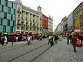 Brno, Náměstí Svobody, trhy.JPG