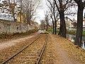 Brno, Svitavská pobřežní dráha, u Tkalcovské (08).jpg