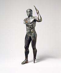 Bronze diskos thrower