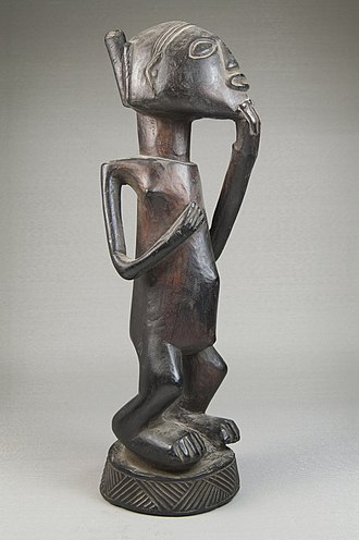 Luba people - Image: Brooklyn Museum 22.1129 Image of Standing Woman (2)