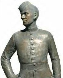 Brucie, Cadet, Sculpture, Royal Military College of Canada
