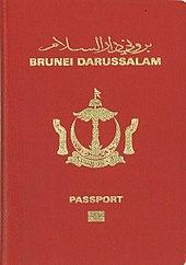 Visa Requirements For Bruneian Citizens Wikipedia