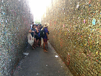 English: Bubblegum alley in San Luis Obispo, C...