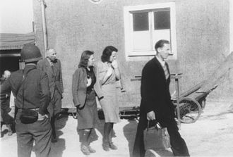 Buchenwald Resistance - Local residents forced to confront corpses and other evidence at newly liberated Buchenwald