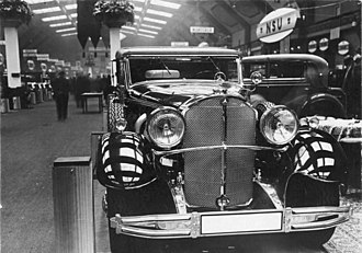 Mercedes-Benz 770 - Mercedes Benz 770 (W07) on display at the 1931 Berlin Motor Show