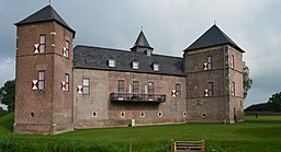 Burg Zelem, Süd-Ost Ansicht
