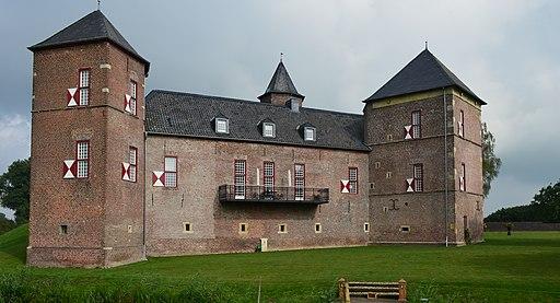 Burg Zelem Süd Ost Ansicht
