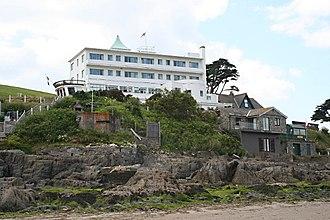 Burgh Island Hotel - The Burgh Island Hotel in 2009