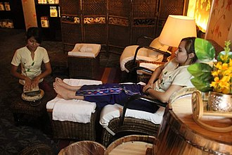 Massage - Traditional Burmese Foot Massage at Sapel in Yangon