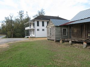 Burnt Corn, Alabama - Image: Burnt Corn, Alabama, View of Lowrey's General Store and Out Buildings