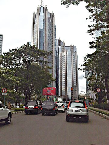 Indonesia Stock Exchange building at SCBD