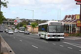 CDC Geelong - Volgren-bodied Volvo B10BLE in Benders livery: February 2007