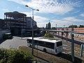 Bus station, Vértes shopping center, train station, 2017 Tatabánya.jpg