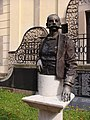 Bust of Ferenc Kemény (1997) in Eger, Hungary. - Главспортсмен - panoramio.jpg