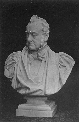 William George Ward - Bust of Ward, by Mario Raggi.