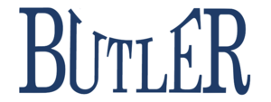 2012 Butler Bulldogs football team - Image: Butler Bulldogs script Logo