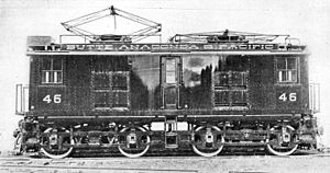 Butte, Anaconda and Pacific Railway - An electric locomotive owned by the Butte, Anaconda and Pacific Railway.