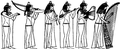 Ancient Egyptian Music Band