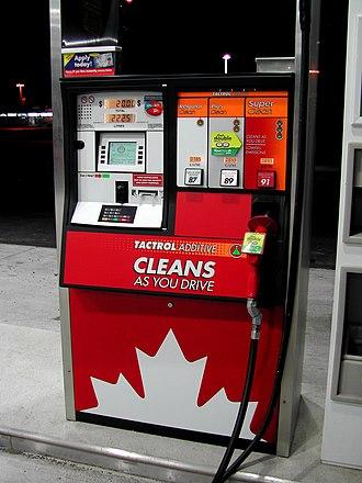 Petro-Canada - Petro-Canada Fuel Pump